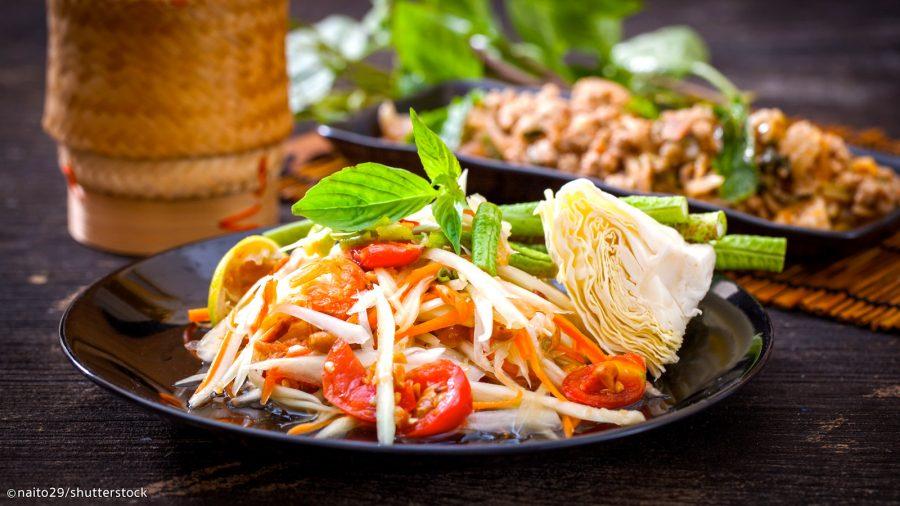Het jaar van start met een Thaise (afhaal) maaltijd