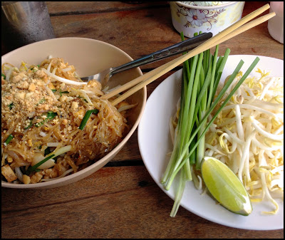 Probeer eens onze vegetarische Phad Thai Phak